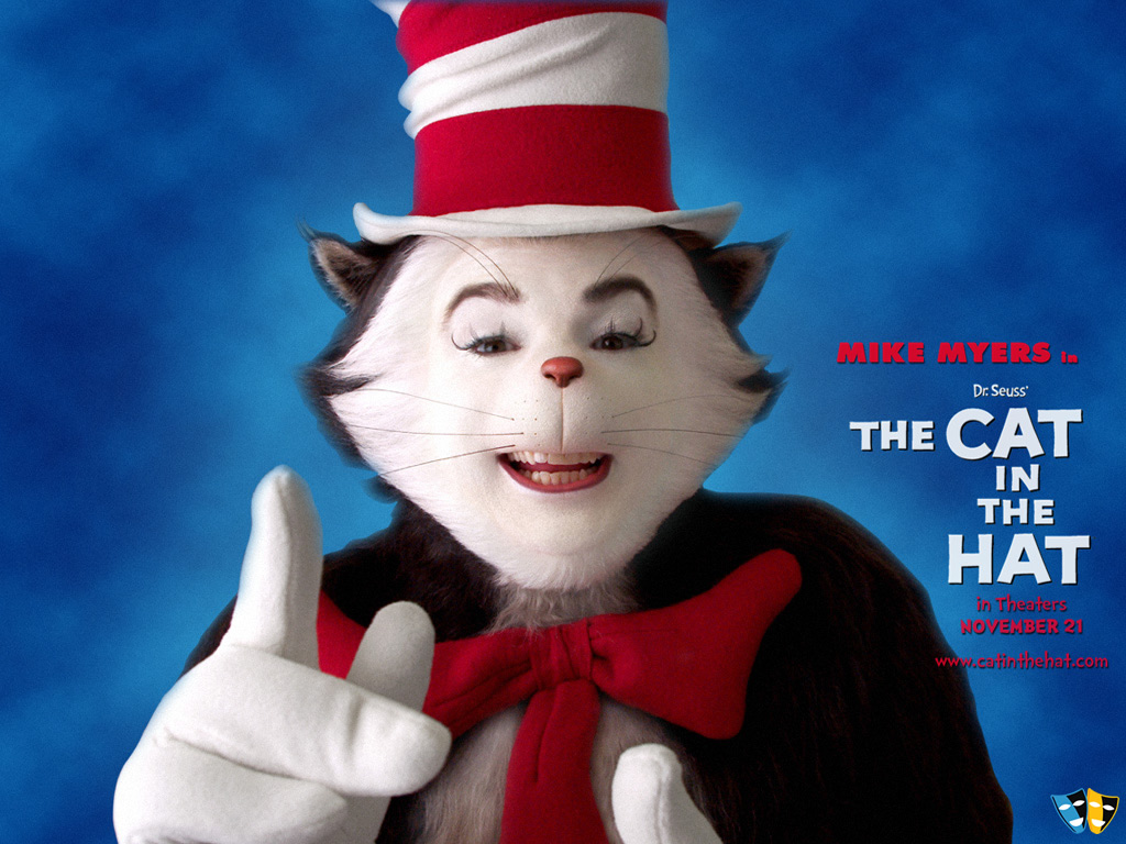 the cat in the hat desktop wallpaper 33356 movies